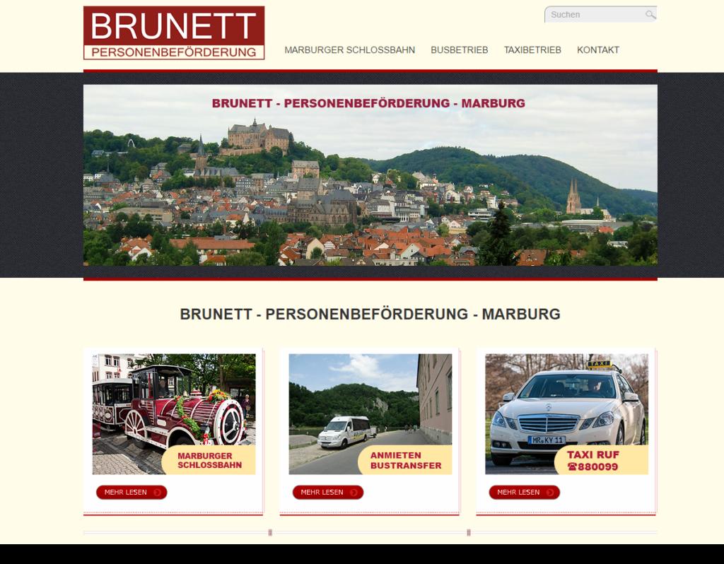 Brunett Personenbeförderung