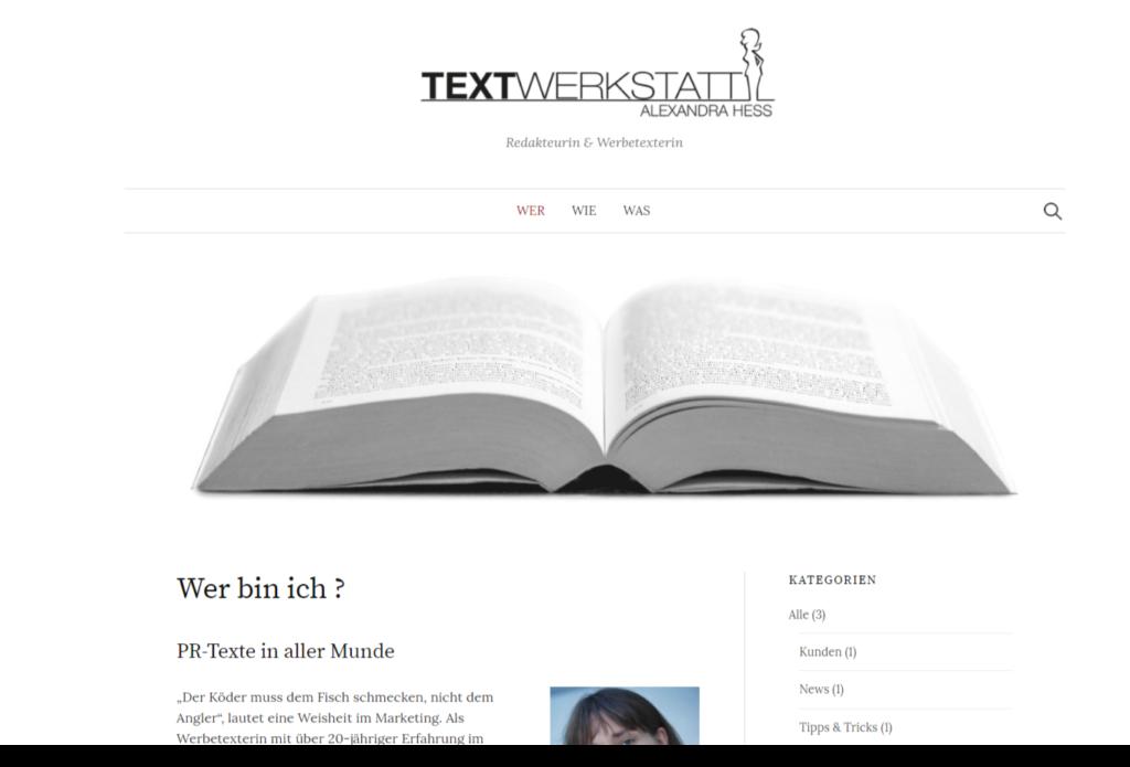 Textwerkstatt Hess