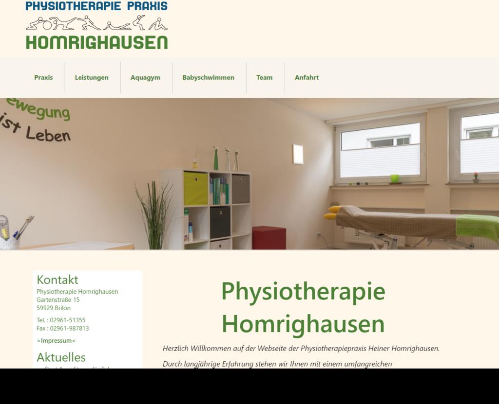 Physiotherapie Homrighausen